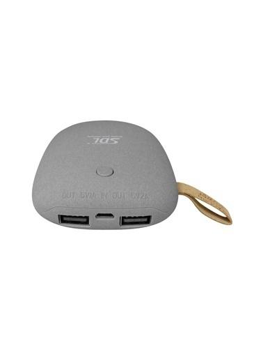 Jacobson SDL Çift USB Girişli 5400Mah Powerbank Renkli